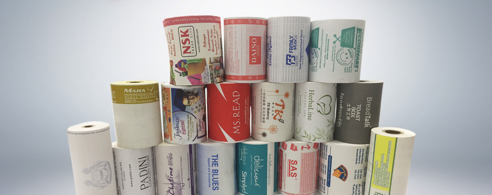preprinted thermal rolls